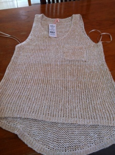 ally knit singlet
